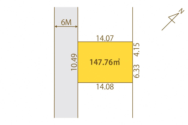 物件B3(36街区4画地)