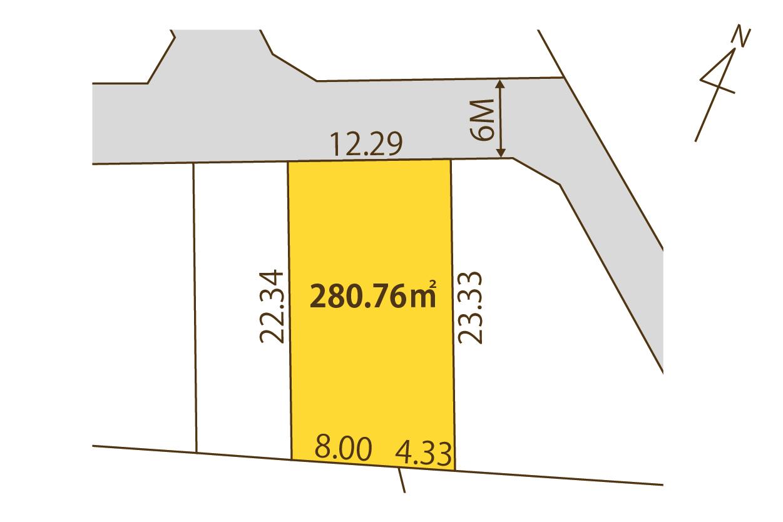 物件D12(105街区3画地)